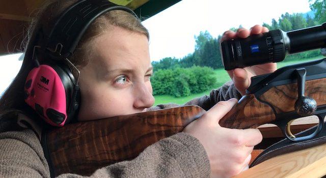Immer mehr Frauen gehen auf die Jagd!