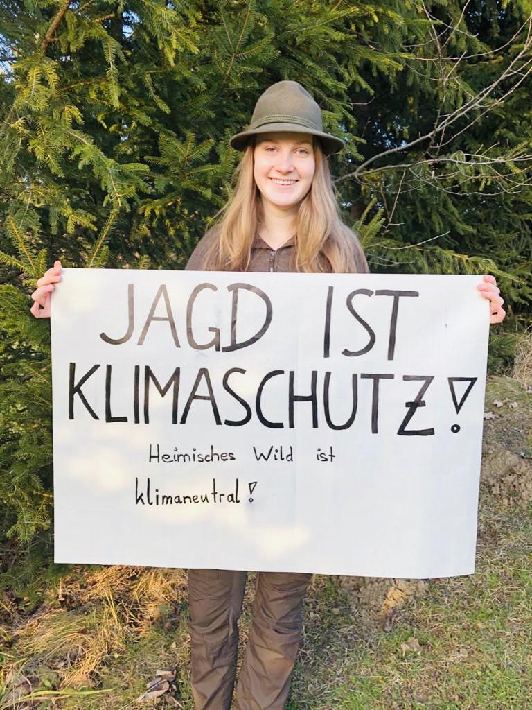 Jagd ist Klimaschutz und heimisches Wildbret ist klimaneutral!